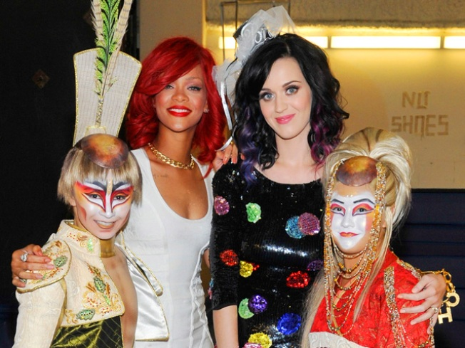 "Rihanna Disses Katy Perry's Music as ""Generic Pop"""