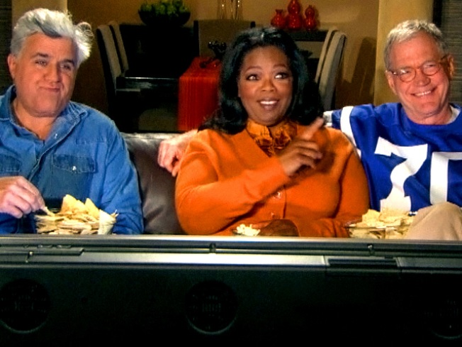 No Joke: Leno, Letterman Team Up for Secret Super Bowl Ad