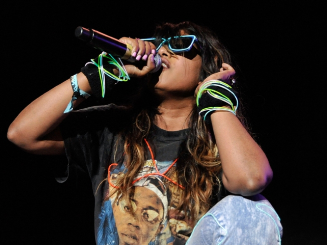 M.I.A. is Not Happy About Performing at Outside Lands