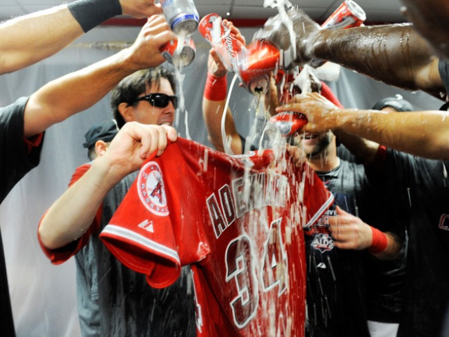 Was Celebration Offensive to Nick Adenhart's Memory?
