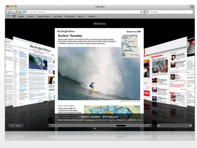 Apple Goes on Safari 4 Beta