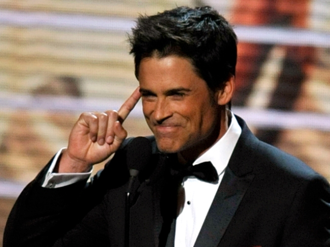 "Rob Lowe: ""Charlie Sheen and I Competed to See Who Could Play Harder"""