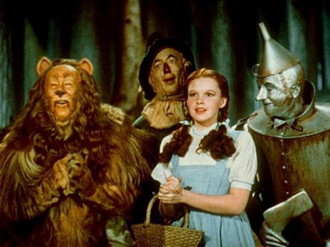 "Judy Garland's ""Wizard of Oz"" Dress Up For Auction"