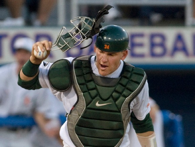 Grandal Drafted 12th, But Rain Delays 'Canes Game