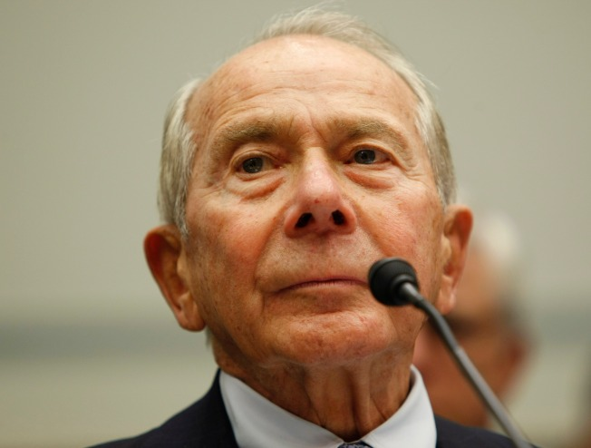 """Former AIG Boss: I Had """"Nothing to Do"""" With Failures"""