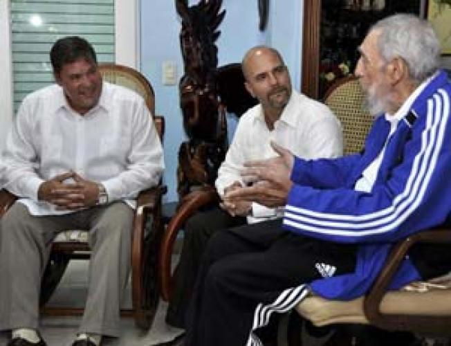 Cuba Releases New Fidel Castro Photos