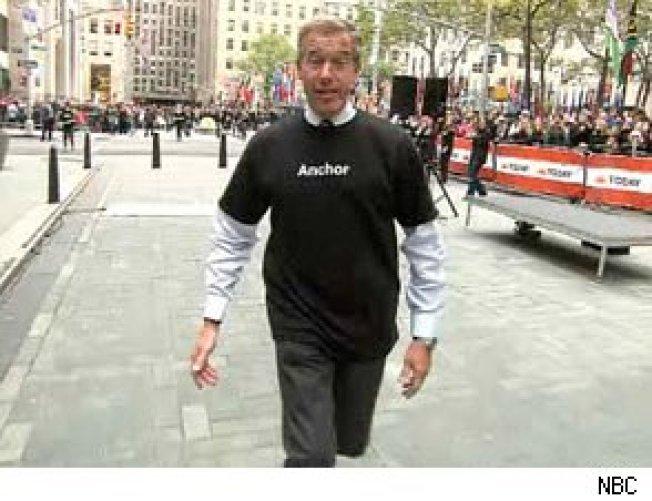 Brian Williams Takes Jab At NY Times