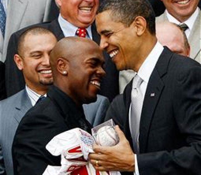 Obama's Sexy White House 'Hot' Line