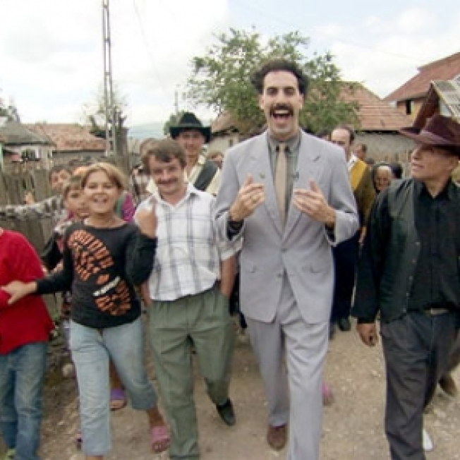 'Borat' Star Fools Alabama Guard, Trains Briefly