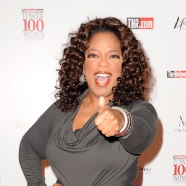 Oprah Receives Leadership Award From Columbia University