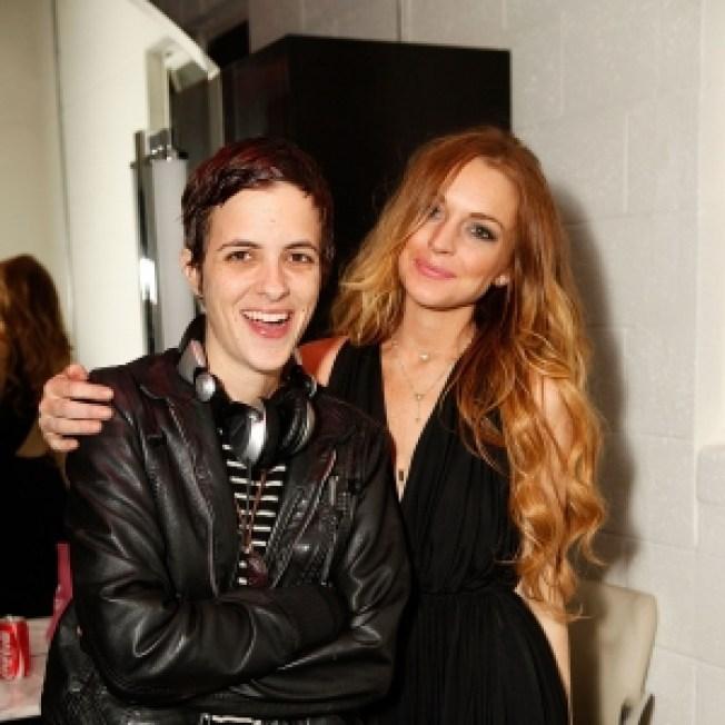Lindsay Lohan & Samantha Ronson Reunite