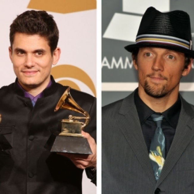John Mayer Says Grammy Win Should Be Shared With Jason Mraz