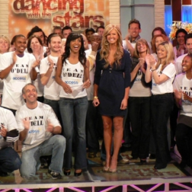 Fans Pick Access Hollywood's Nancy O'Dell As Early 'Dancing' Favorite