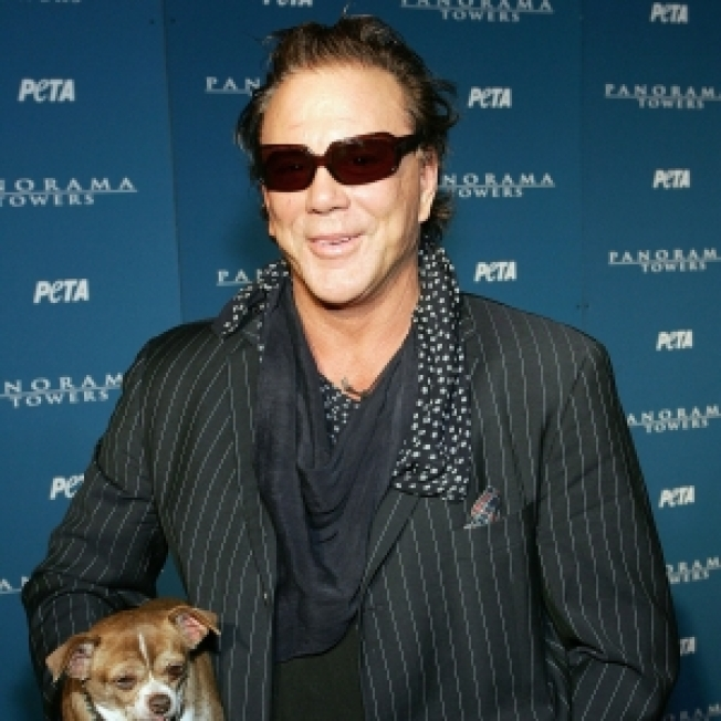 Mickey Rourke's Beloved Chihuahua Loki Dies