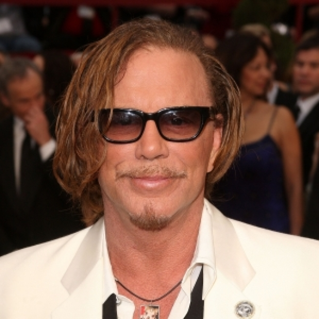 Mickey Rourke Steps Into The Ring At Wrestlemania 25