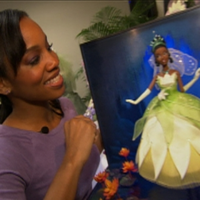 Anika Noni Rose Unveils Doll For Disney's First Black Princess