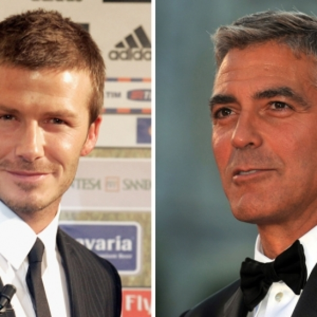 Rep: David Beckham Not Crashing With George Clooney