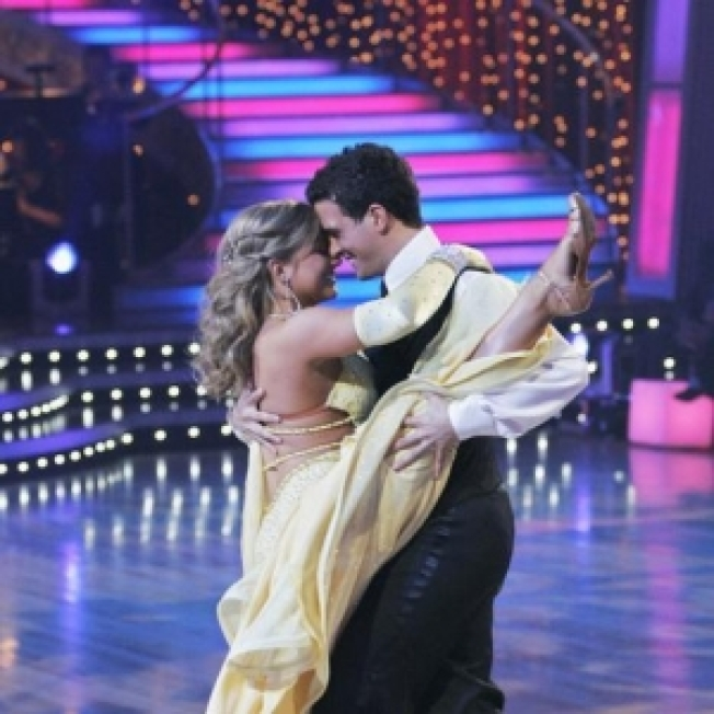 Shawn Johnson, Gilles Marini Take Flight During 'Dancing With The Stars' Season Opener