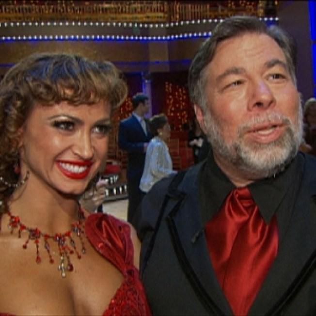 Karina Smirnoff Talks Having 'Dancing' Partner Steve Wozniak In Her Wedding