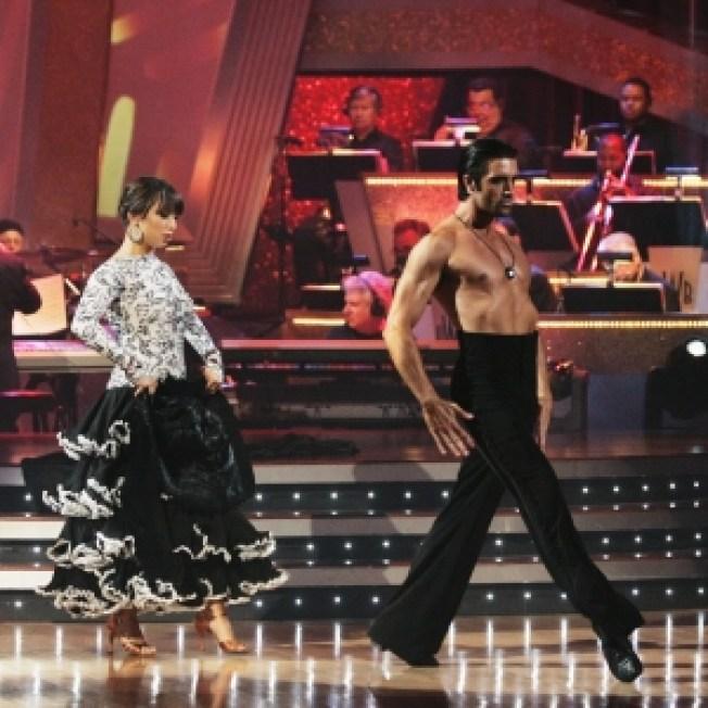 Gilles Marini & Cheryl Burke Top Leaderboard On 'Dancing'