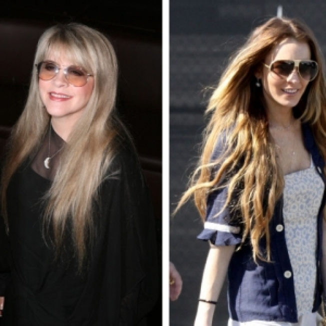Stevie Nicks Tells Lindsay Lohan To 'Stand Back' About Playing Her In Movie