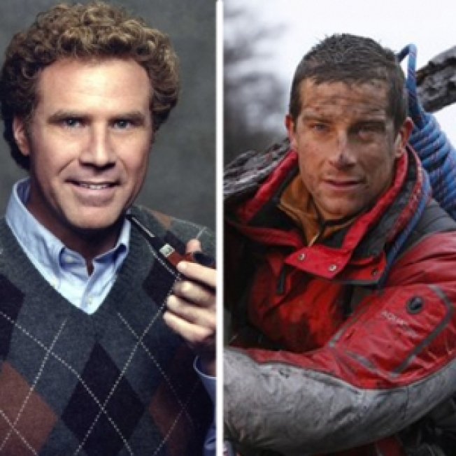 Will Ferrell Survives 'Man Vs. Wild' With Bear Grylls