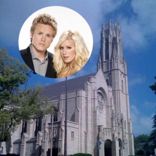 Spencer & Heidi's Pasadena Wedding Kicks Off