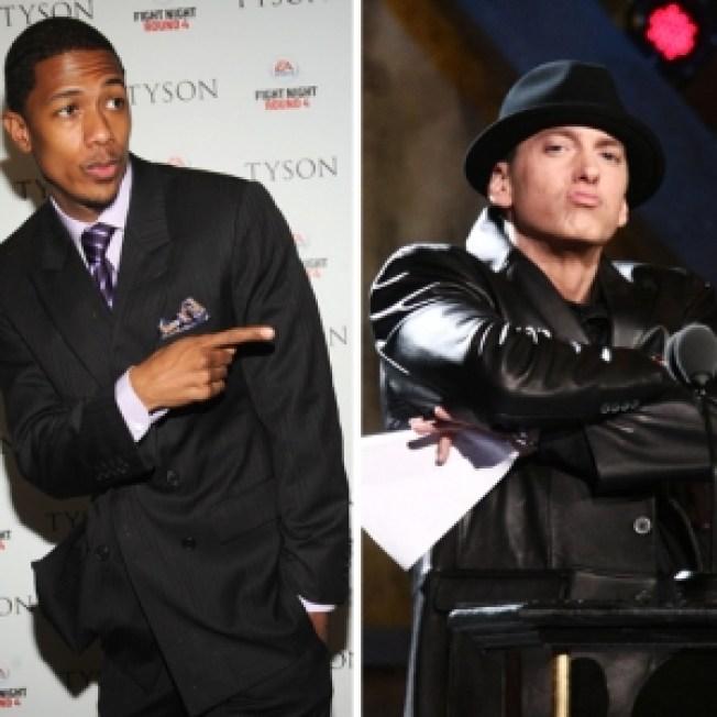 Nick Cannon: Eminem Is 'Slim Lamey!'
