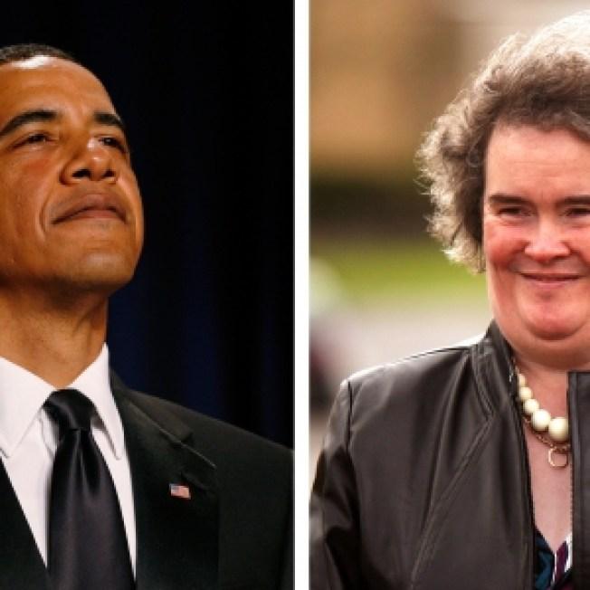 Rep: Susan Boyle Had To Turn Down Obama Dinner Invite