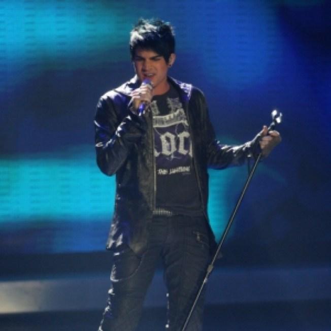 'Glee' Actors Sing 'Idol' Lambert's Praises