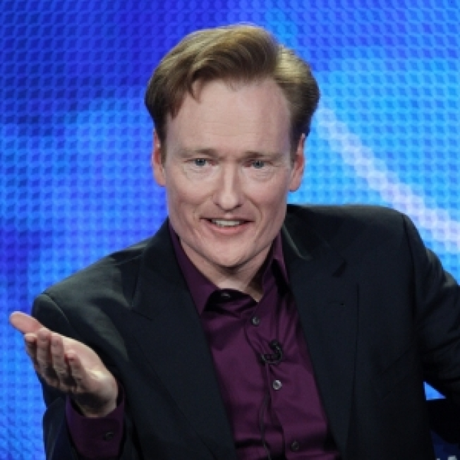 Conan O'Brien Takes The 'Tonight Show' Stage For The First Time