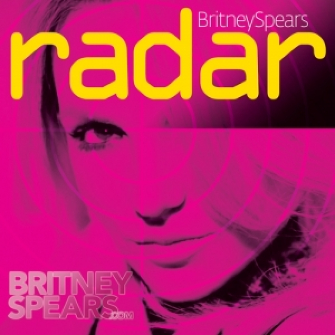 Britney Spears Unveils 'Radar' Single Art