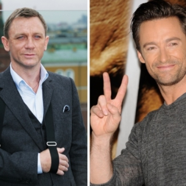 Report: Daniel Craig & Hugh Jackman Teaming Up On Broadway