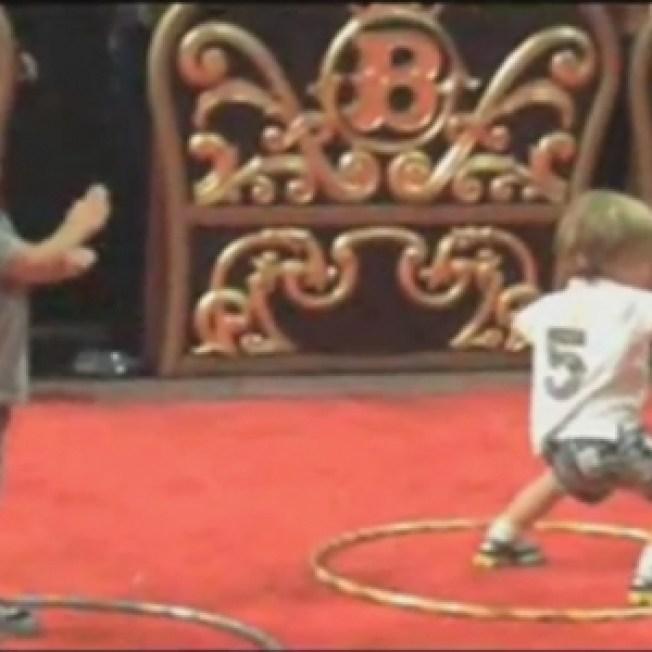 Britney's Boys Dance To 'Toxic'