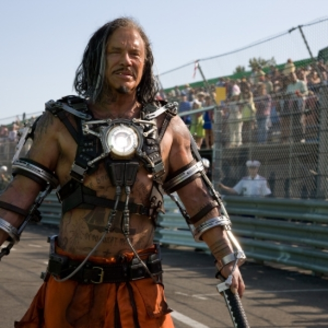 First Look: Mickey Rourke As Whiplash In 'Iron Man 2'