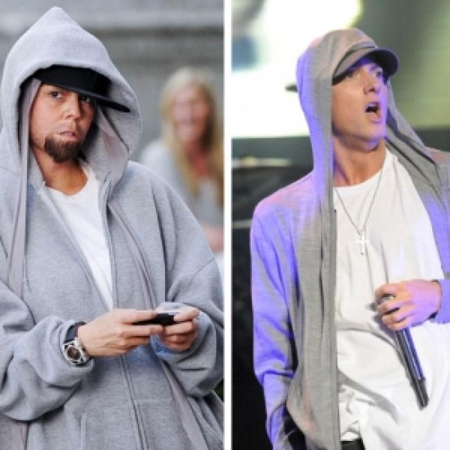 ROLL CALL:  Mariah Spoofs Eminem