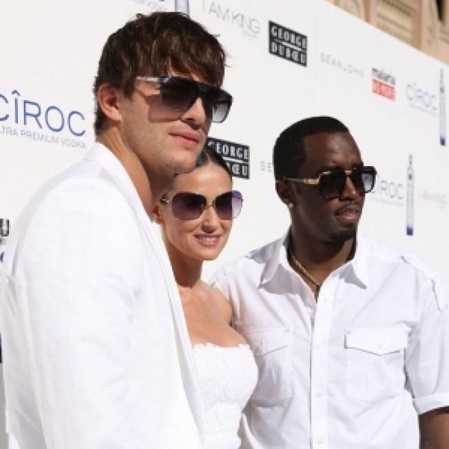 Diddy, Ashton & More Fight Malaria At Annual White Party