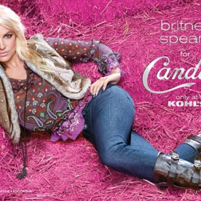 FIRST LOOK: Britney's New Candie's Ads