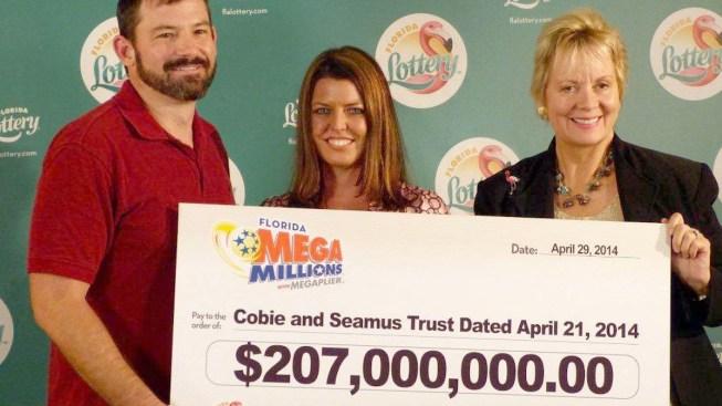 Florida Mega Millions Winners Claim $207 Million Prize