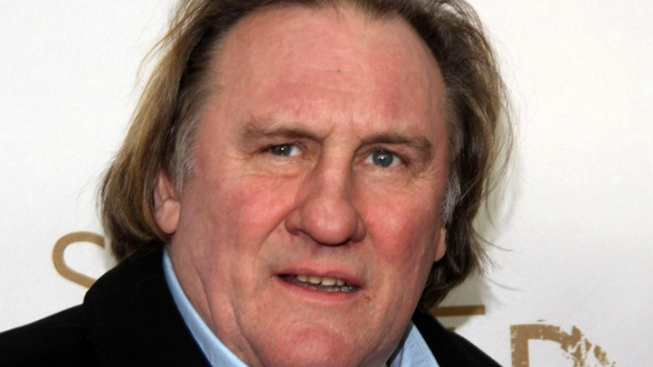 Gerard Depardieu Arrested for Allegedly Driving Scooter Drunk