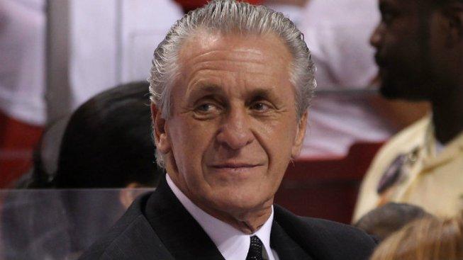 "Heat President Pat Riley Files For ""3-Peat"" Trademark"