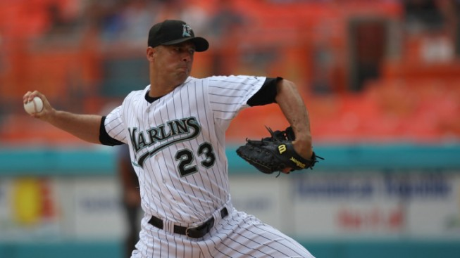 Marlins Courting Vazquez to Return in 2012