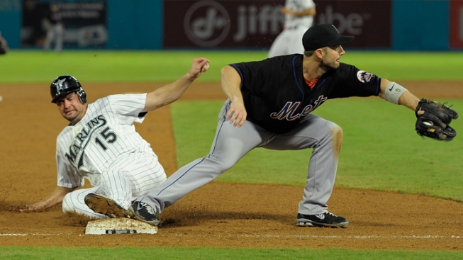Marlins Make Three Comebacks, But Lose to Mets