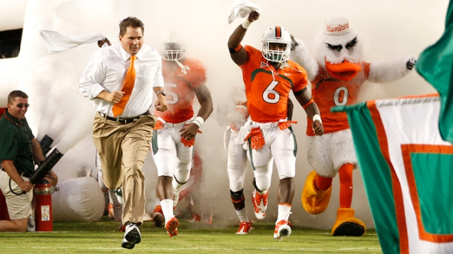 2013 University of Miami Football Schedule Released