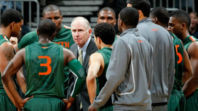 Miami Hurricanes' Jim Larranaga Named AP Coach of the Year