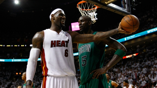 KG to LeBron: Mind Your Own Business