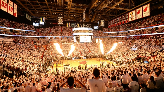 Miami Heat Unveil White Hot Playoff Campaign