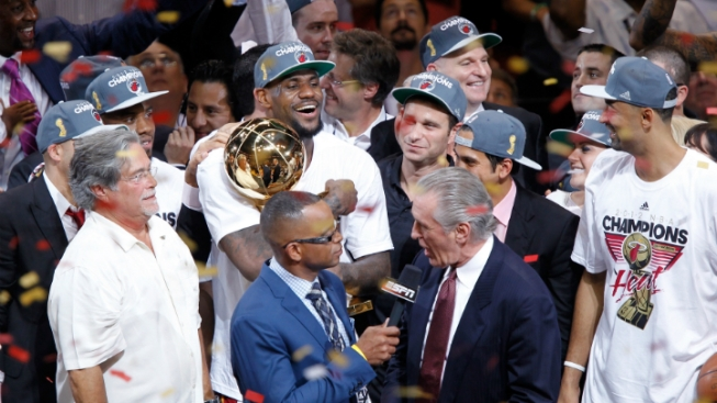 Heat Celebrate Monday, But Party Ends Soon