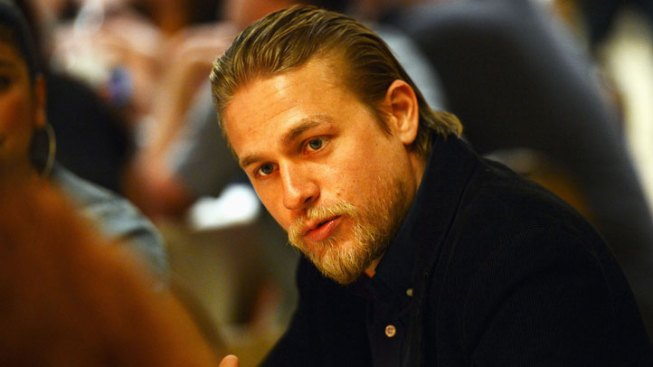 "Charlie Hunnam Talks About ""50 Shades"" Role"
