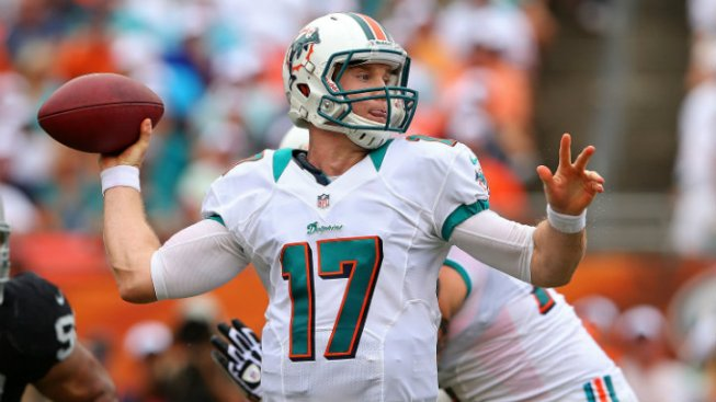 "Dolphins' Tannehill: ""I Want to Play"" Sunday"